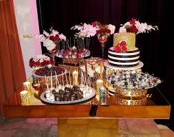 gold mirror top table al los angeles encino calabasas wedding als dessert table als sweetheart table