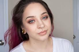 fresh summer makeup look