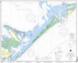 Noaa Chart 11452 Noaa Nautical Chart 11452 Intracoastal Waterway Alligator