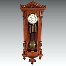 regulator wall clocks antique regulator wall clock one weight antique vienna regulator