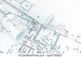 Architecture blueprints Exterior Technical And Engineering Drawings Floor Plans Rolls Of Architecture Blueprints Csp47763621 Youtube Technical And Engineering Drawings Floor Plans Rolls Of