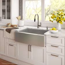 Kraus Khf20030272042ss 30 Inch Apron Front Kitchen Sink And Kitchen