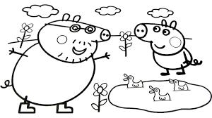 peppa pig coloring book peppa pig kids fun art activities video for kids