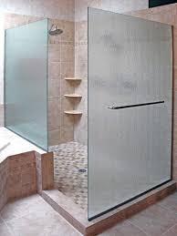 shower doors with towel bars shower door with panels on knee wall shower door towel bar