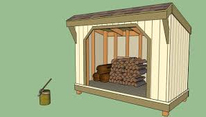 building plans for firewood storage shed