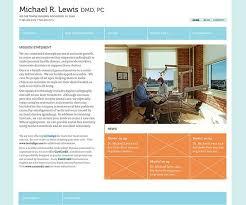 Dental Office Website Design Awesome Michael R Lewis Dentistry Website Design Concepts For Local