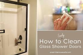clean glass shower doors how to clean glass shower door glass shower doors cleaning glass shower