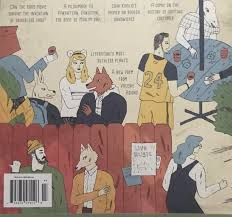 "That's Aes right? This cover of Believer magazine has a dude in the bottom  left corner who seems to be saying ""party over here? I'll be over there"" :  aesoprock"