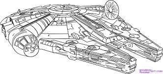 Small Picture How to Draw the Millennium Falcon Step by Step Star Wars