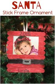 17 Clever Popsicle Craft Ideas For Your Kids This Christmas Christmas Picture Frame Craft Ideas