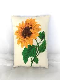 Image Girassol Image Etsy Sunflower Pillow Sunflower Home Decor Summer Decorations Etsy