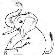 Baby Elephant Drawings Elephant And Baby Drawing At Getdrawings Com Free For Personal Use