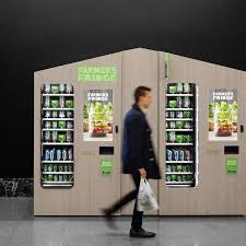 Purpose Of Vending Machine Best What If You Could Get A Fresh Healthy Salad From A Vending