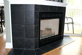 black tile fireplace inspiring image of various porcelain tile fireplace surround for your inspiration magnificent fireplace
