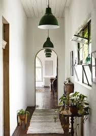 entrance hall pendant lighting. entry timber floors green pendant lights saskia folk home entrance hall lighting