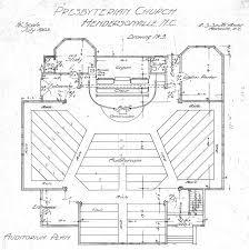 Church Blueprints Design Auditorium Design Plan Presbyterian Church Auditorium