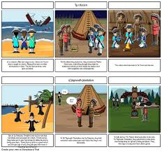 la relacion and of plymouth plantation storyboard