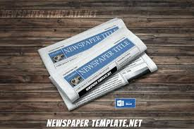 Editable Free News Paper Template Format Ms Word Newspaper