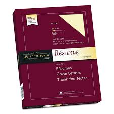 Southworth Resume Paper Amazon Southworth 24% Cotton Résumé Paper 2424 X 24 24 Lb 2