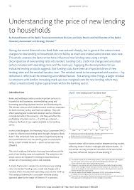 Pdf Understanding The Price Of New Lending To Households
