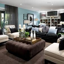 brown and black living room ideas. Beautiful Ideas Black And Brown Living Room Decor Giuliana Bills Home StyleFor Less Basements Ceilings O