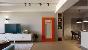 a modern taiwanese apartment with funky twist 1 office space designs startup office design cool office space idea funky