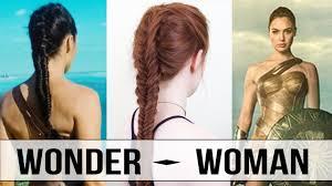 Wonder Woman Hair Style wonder woman warrior braid tutorial youtube 5064 by wearticles.com