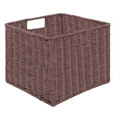 office storage baskets. 3 Pcs Of Storage Baskets Nest Nesting Cube Bin Box Organizer For Home Office Room Wicker G