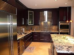 amazing of contemporary dark wood kitchen cabinets modern style doors full size