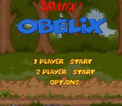 Resultado de imagen de asterix y obelix snes