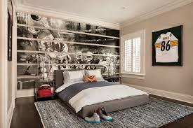 Sports Teen Boy Bedroom Interior Decoration ...