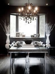beautiful chandelier in the dining room