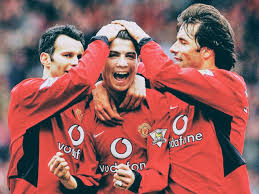 Soccer superstar cristiano ronaldo is returning to his former team, manchester united, the club announced friday. Greats Of The Game Cristiano Ronaldo Ruud Van Nistelrooy And Ryan