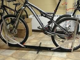 diy bike rack homemade bike tray and rack modification diy pvc bike rack plans