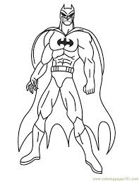 Small Picture Easy superhero coloring pages Grootfeestinfo
