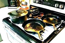 cast iron on glass cooktop cast iron glass cast iron griddle stove top best frying pan