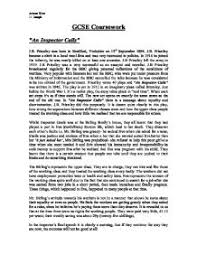 an inspector calls biography of the author a summary of theme page 1 zoom in