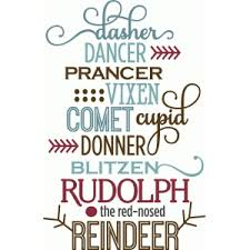 Silhouette Design Store Search Designs Reindeer Rudolph