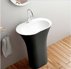 free standing sink. Rimini Freestanding Pedestal Oval Sink Free Standing R