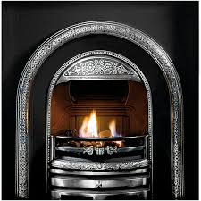 gallery bolton cast iron fireplace insert with cast back