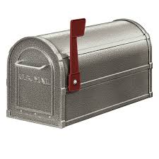 mailbox with mail indicator.  Mail On Mailbox With Mail Indicator