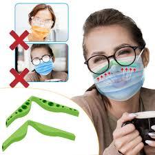 NEW <b>Face</b> Mask Glasses Grip <b>Anti</b>-<b>fogging nose</b> bridge <b>strip</b> ...