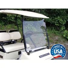 yamaha golf cart tinted fold down windshield fits models g14 g16 g19