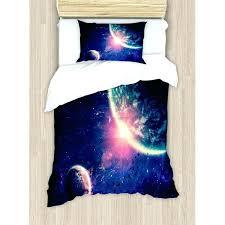 space crib bedding spaceship