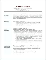 Resumes Objectives great resume objectives samuelbackman 61