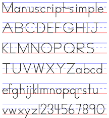 Printable Zaner Bloser Alphabet Chart Examples Of Handwriting Styles Draw Your World Draw