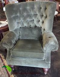 thomasville wingback chair