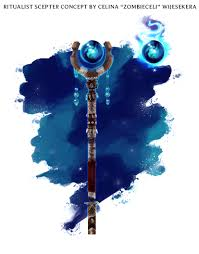 Guild Wars Design Celina Wijesekera Ritualist Scepter Guild Wars 2 Weapon