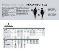 Brooks Brothers Dress Shirt Size Chart Brooks Brothers