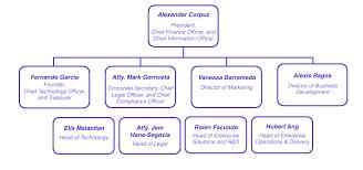 Corporate Finance Organizational Chart Xurpas
